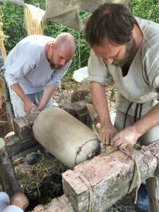 Herstellung der Glocken-Gussform
