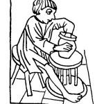 Abbildung 5: Fußtöpferscheibe. Süddeutsch, um 1490. Rieth 1960, Abb. 87.