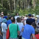 Unsere Gästeführer erklärten den Besuchern das Projekt und die Hintergründe.