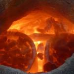 Die Tiegel im Feuer