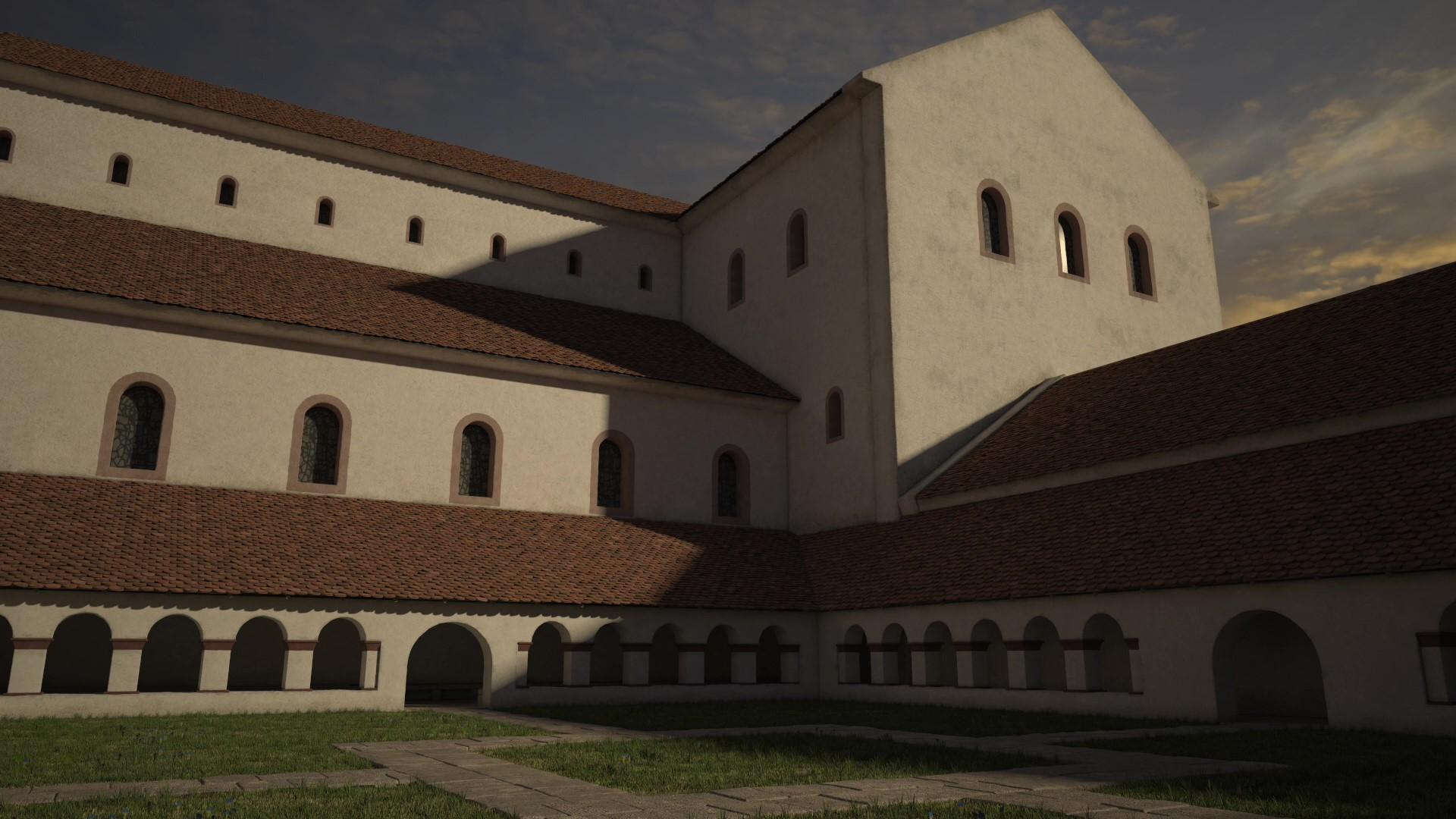St.Galler Klosterplan virtuell