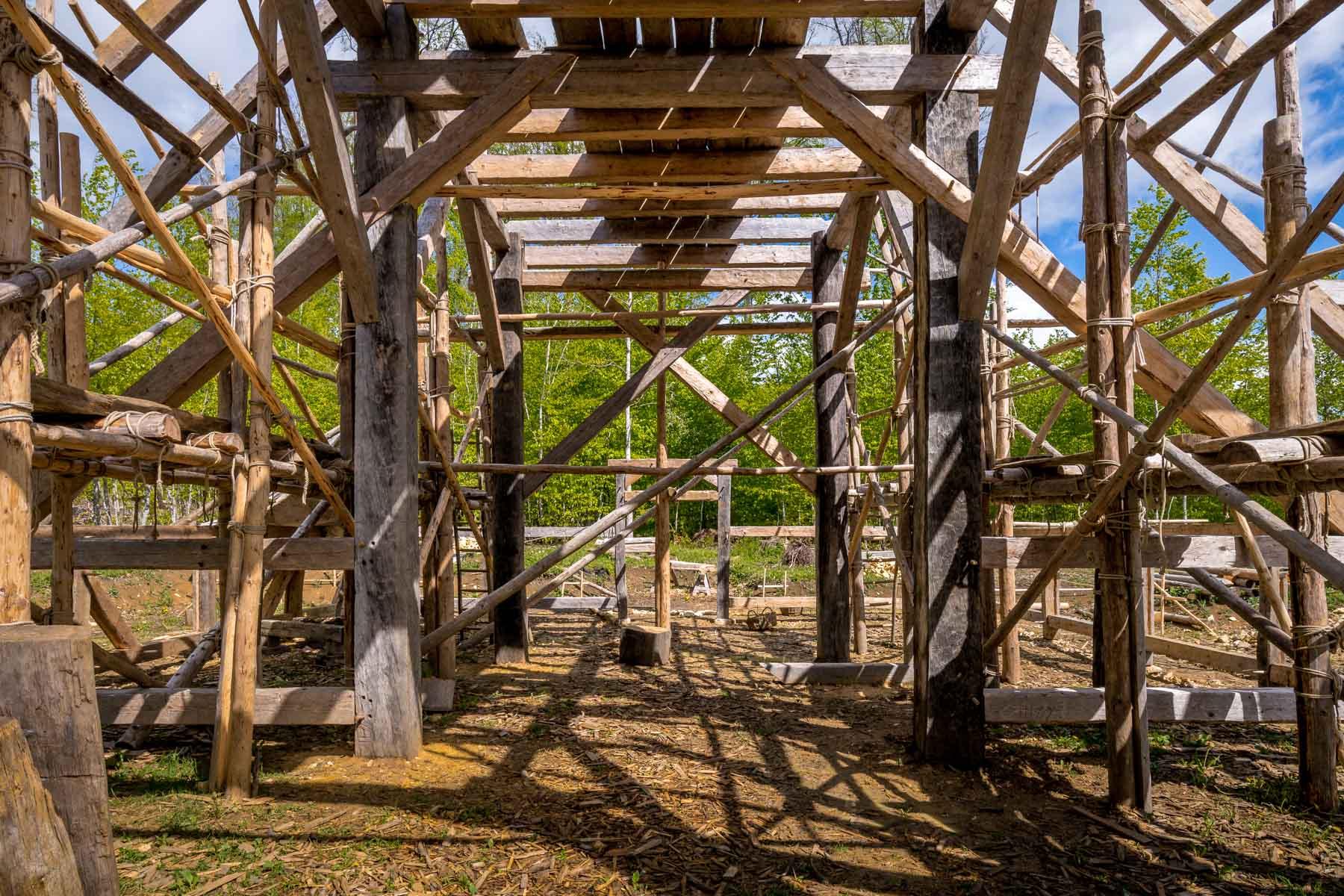 Video: Baufortschritte an der Klosterscheune